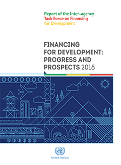 Cover 2018 report of the Inter-agency Task Force on Financing for Development